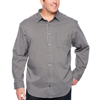 30390731a Big Tall Size Long Sleeve Shirts for Men - JCPenney