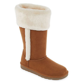 b0982ca7938 Winter Boots Brown All Boots for Shoes - JCPenney