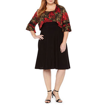 Plus Size Floral Dresses For Women Jcpenney