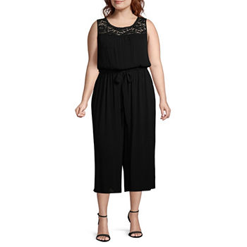 b9ba1efd238 Crew Neck Jumpsuits   Rompers for Women - JCPenney