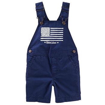 8cac9adcb Oshkosh Suspender Jeans Toddler Boys. Add To Cart. Indigo. $34