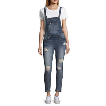 Denim Jumpsuits Rompers For Juniors Jcpenney