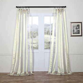 Lined Sheer Curtain Panels Curtains D