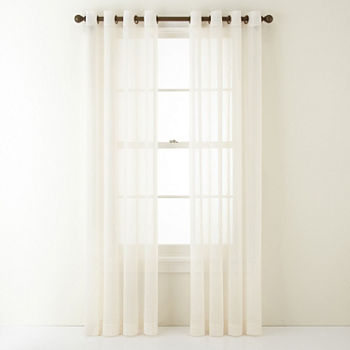 108 Inch Grommet Sheer Curtains For