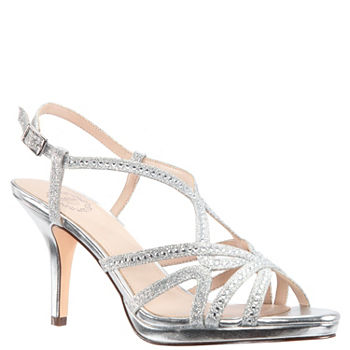b423b0d7b50c Pumps Silver Women s Special Occasion Shoes for Shoes - JCPenney