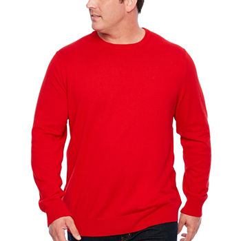 Big Tall Size Red Sweaters for Men - JCPenney 8362d5ca3