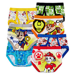 Paw Patrol 7-pk. Briefs - Toddler Boys 2t-4t