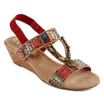 New York Transit Wedge Sandals Under  20 for Memorial Day Sale ... 62b5b1aac