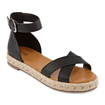 f34fa3038 Flat Sandals Women s Sandals   Flip Flops for Shoes - JCPenney