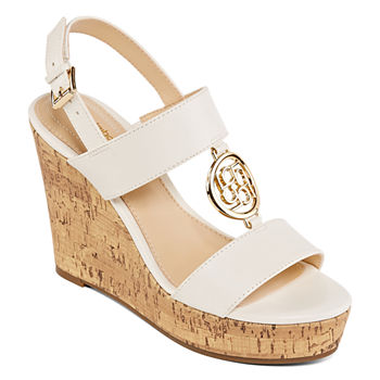 2d8854b2c04 Liz Claiborne Womens Janessa Wedge Sandals JCPenney