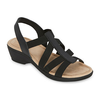 east 5th Womens Ichiro Wedge Sandals