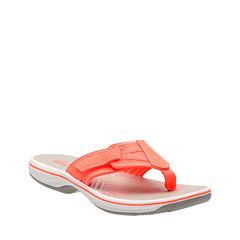 Clarks Brinkley Athol Womens Flip Flops
