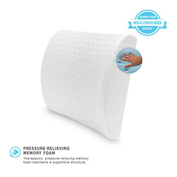 SensorPEDIC Memory Foam Lumbar Accessory Pillow