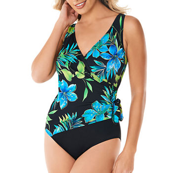 3ecffdea2f8 Robby Len By Longitude Abstract One Piece Swimsuit · (1). Add To Cart.  Blue. $35.60