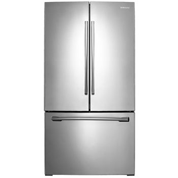 Samsung Energy Star 26 Cu Ft 36 Wide French Door Refrigerator With Internal Filtered Water