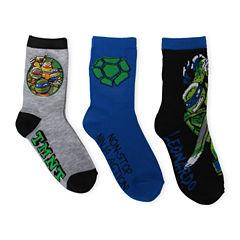 TMNT Crew Socks 3-pc