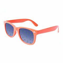 Retro Rectangle Palm Tree Sunglasses
