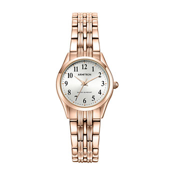 Armitron Womens Rose Goldtone Bangle Watch-75/5304svrg