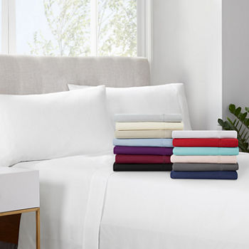 Serta Simply Clean Antimicrobial Sheet Set