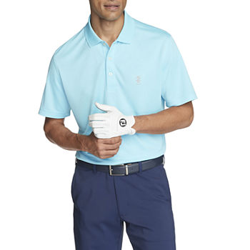 IZOD Golf Mens Cooling Short Sleeve Polo Shirt