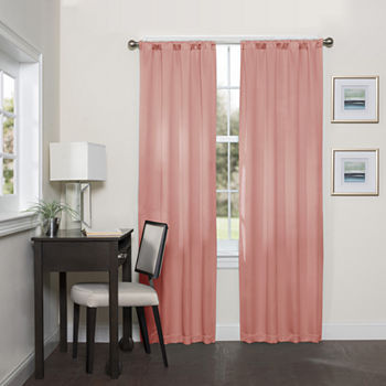 95 Inch Pink Curtains & Drapes for Window - JCPenney