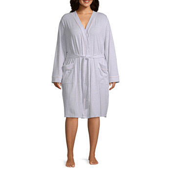 Liz Claiborne® Plus Size Essential Knit Robe de243ead1