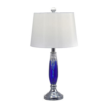 Dale Tiffany Royal 24% Lead Handcut Crystal Table Lamp