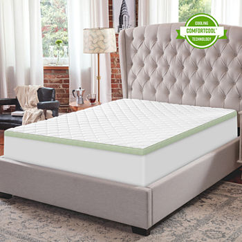 California King Memory Foam Mattress Pads Toppers For Bed Bath