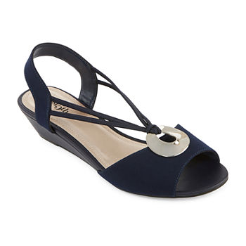east 5th Womens Ravena Wedge Sandals