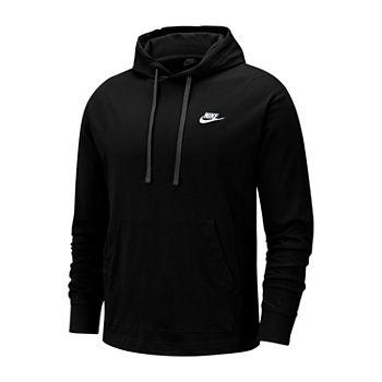Nike Mens Long Sleeve Embellished Hoodie Big and Tall