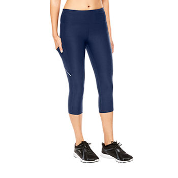 Xersion Train Womens Mid Rise Essential Capris