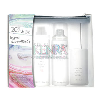 Kenra Pro Travel Essential Bag Hair Care Travel Kit-5.4 oz.