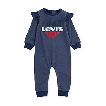 Levi's Baby Girls Long Sleeve Jumpsuit