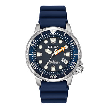 Citizen Promaster Diver Mens Blue Strap Watch