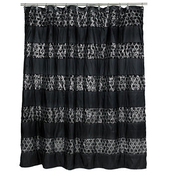Black Shower Curtains For Bed Bath