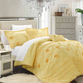 Fantastic Yellow Comforters & Bedding Sets for Bed & Bath - JCPenney TO44