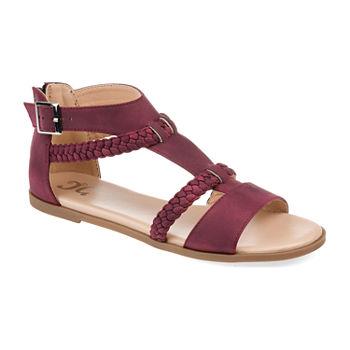 6c2f40901abb Journee Collection Womens Hanni Criss Cross Strap Gladiator Sandals. Add To  Cart. Few Left