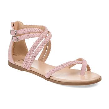 1ba158e1219d Journee Collection Flat Sandals Women s Sandals   Flip Flops for Shoes -  JCPenney