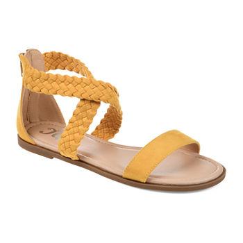 92681c07236b Journee Collection Flat Sandals Women s Sandals   Flip Flops for ...