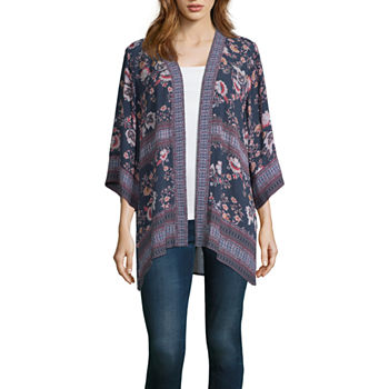 88ad6c6ac6 Kimonos Tops for Women - JCPenney