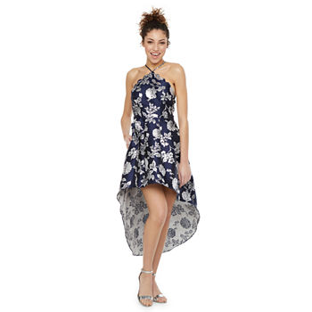 by&by Sleeveless High-Low Party Dress-Juniors