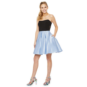 DJ Jaz-Juniors Sleeveless Fit & Flare Dress