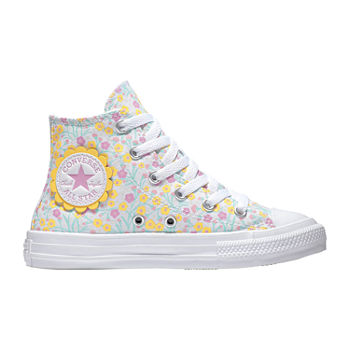 Converse Chuck Taylor All Star Hi Ditsy Floral Little Big Kid Girls Sneakers
