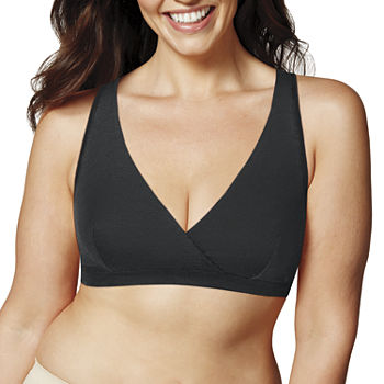 Playtex Nursing Cross Over Sleep Bra 2-pc. Wireless Sleep Nursing Bra-Us4960