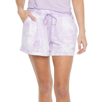 Ambrielle Womens French Terry Pajama Shorts