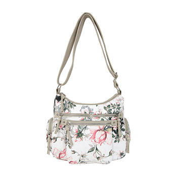 Bueno of California Printed Large Crossbody Bag