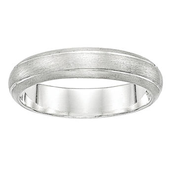 5MM Sterling Silver Wedding Band