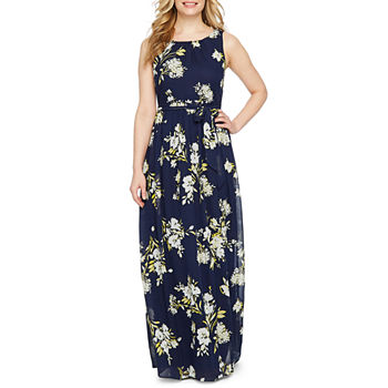 7d6726f4f2ee1 Premier Amour Long Sleeve Floral Maxi Dress. Add To Cart. New. Navy Yellow