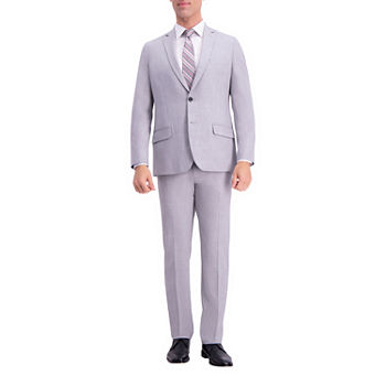 JM Haggar 4-Way Stretch Solid Gab Slim Fit Suit Jacket