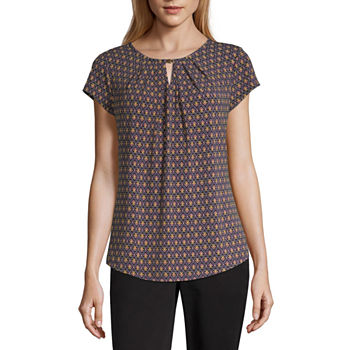 362f845a Blouses for Sale | Shop by Color, Neckline & More | JCPenney